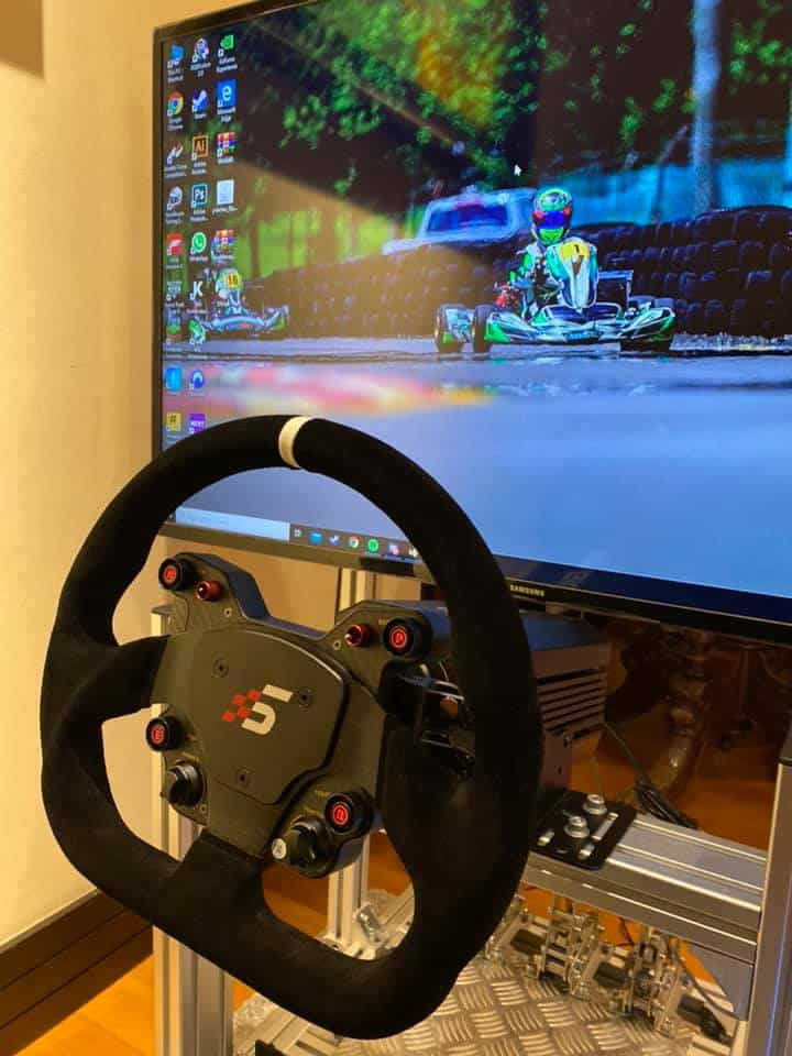 corona volante racing simagic