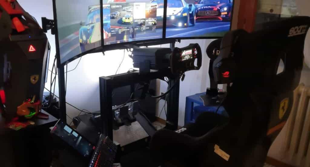 postazione volante trak racer simagic